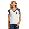 District - Women's Game V-Neck Tee