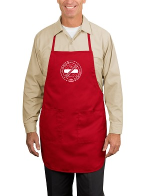 Everyone Goes Home Full-Length BBQ Apron